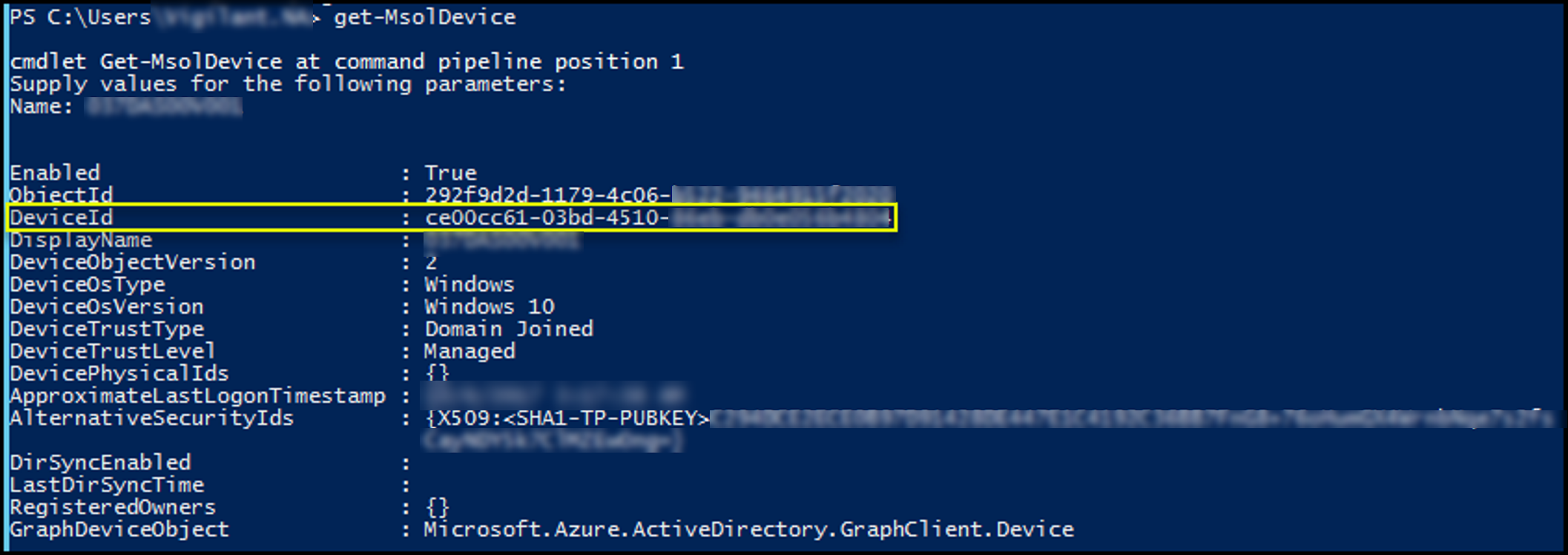 Remove a device from Hybrid Azure AD join – permanently